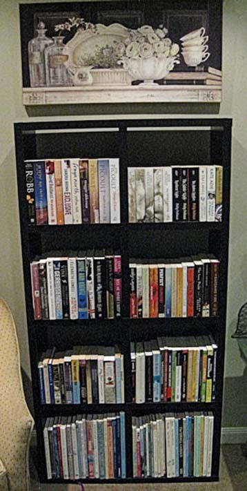 A bookcase I used to have