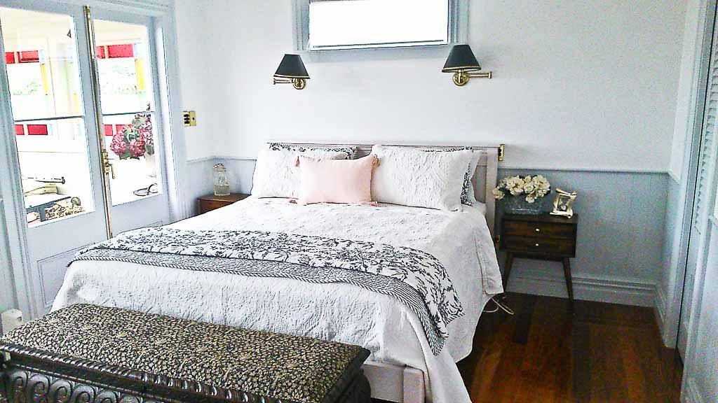 Cottage bedroom after makeover