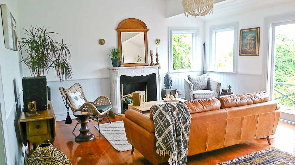 Renovated Cottage Living Room